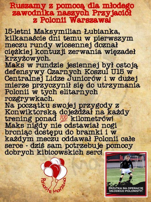 Informacje Maks Łubianka