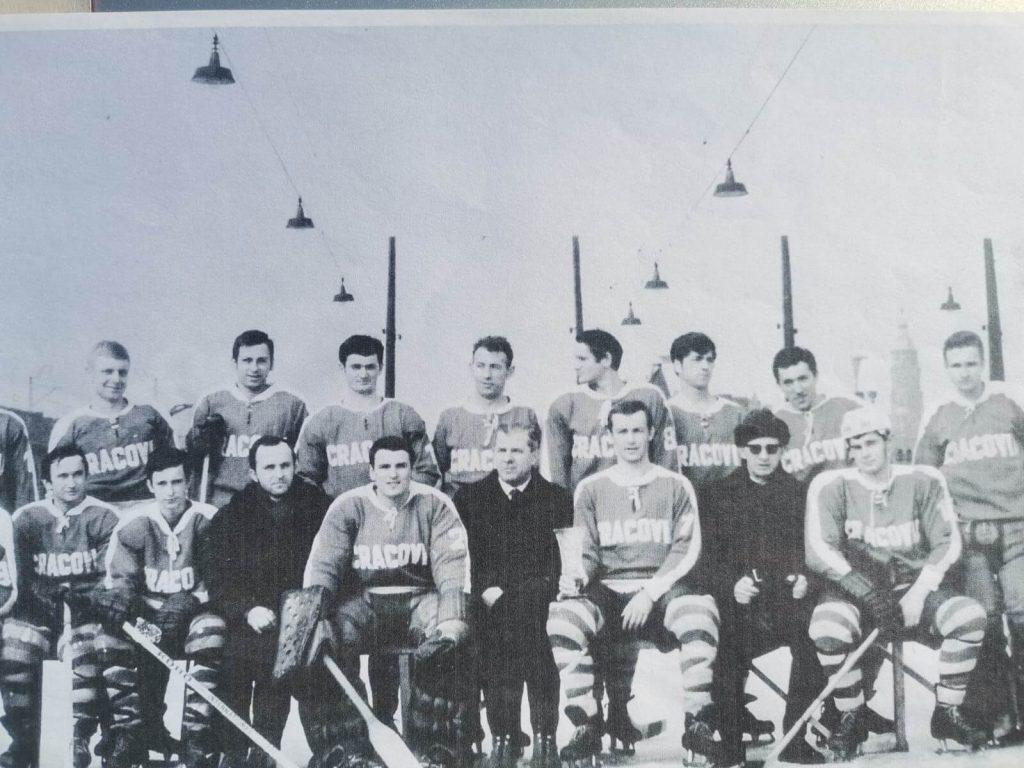 Drużyna Cracovii Hokej